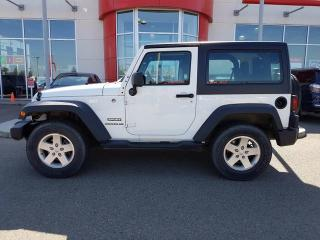 Used 2012 Jeep Wrangler SPORT for sale in Red Deer, AB