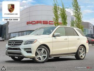 Used 2014 Mercedes-Benz ML-Class LOW KMS! | LOADED! | 550 | Local Edmonton Vehicle | Clean Carproof for sale in Edmonton, AB