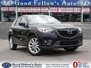 Used 2014 Mazda CX-5 GT, CAMERA, LEATHER, SUNROOF, NAV, 4CYL, 2.5 L for sale in North York, ON