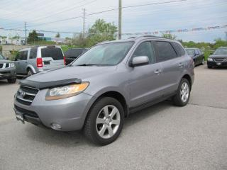 Used 2007 Hyundai Santa Fe GLS ,AWD , LEATHER & SUNROOF for sale in Newmarket, ON