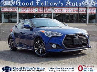 Used 2016 Hyundai Veloster TURBO, LEATHER, NAV, PANORAMIC ROOF, CAMERA for sale in North York, ON