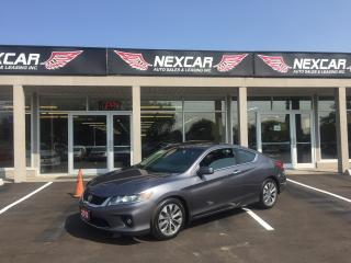 Used 2013 Honda Accord EX-L COUPE AUTO LEATHER NAVI SUNROOF 89K for sale in North York, ON
