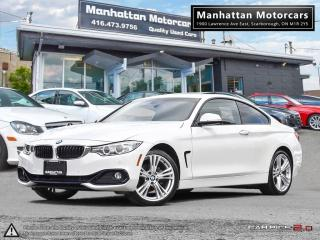 Used 2014 BMW 428i 428i xDRIVE  NAV CAM 1 OWNER WARRANTY NO ACCIDENTS for sale in Scarborough, ON