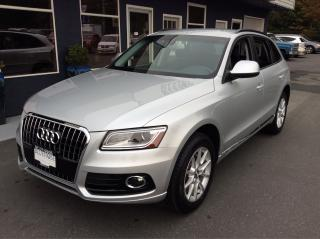 Used 2013 Audi Q5 2.0L PREMIUM QUATTRO for sale in Parksville, BC