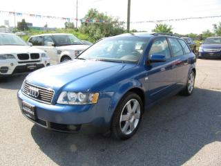 Used 2004 Audi A4 1.8T AVANT QUATTRO for sale in Newmarket, ON