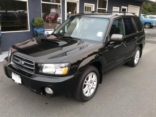 Used 2004 Subaru Forester XT w/Lthr for sale in Parksville, BC