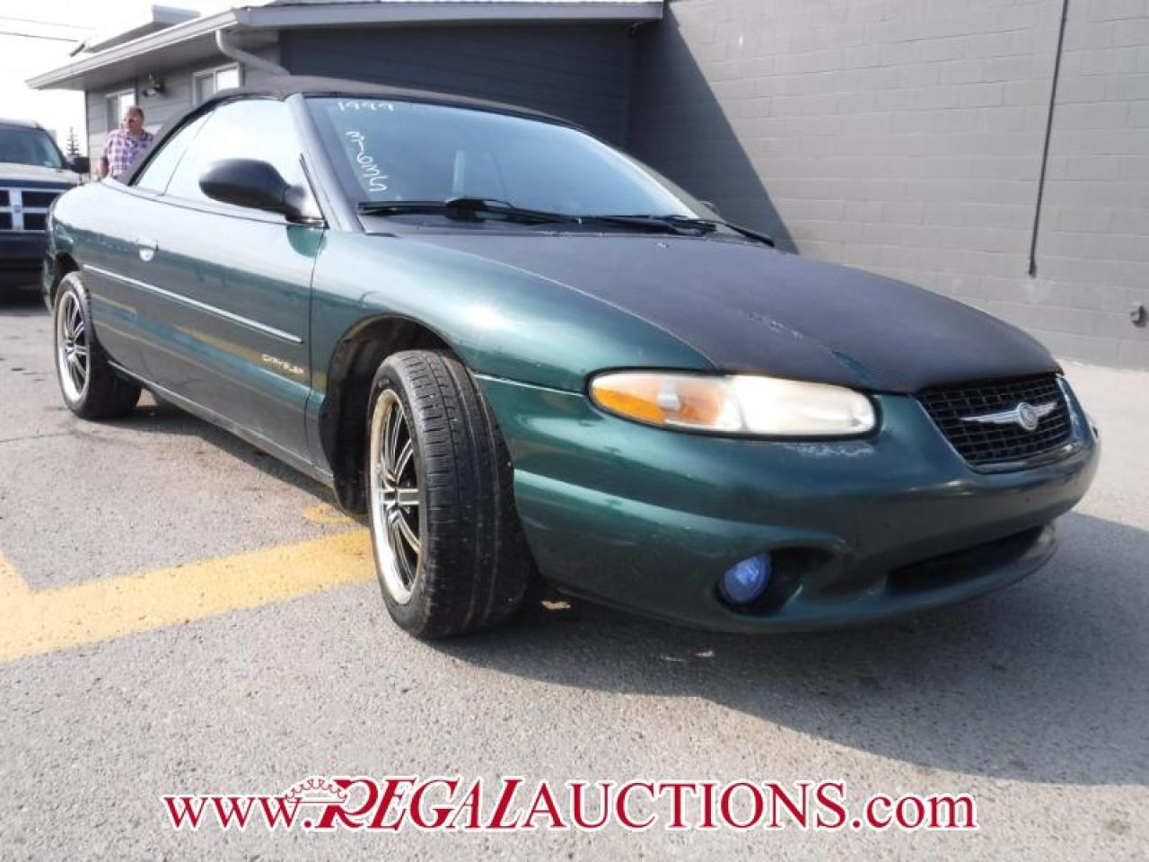 Photo of Green 1999 Chrysler SEBRING JXI 2D CONVERTIBLE