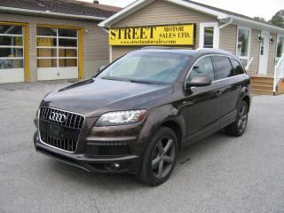 Used 2015 Audi Q7 Quattro AWD S-Line 7Passenger for sale in Smiths Falls, ON