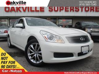 Used 2008 Infiniti G35X AWD | LEATHER | SUNROOF | HANDSFREE | HEATED SEATS for sale in Oakville, ON
