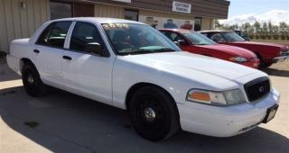 Used 2009 Ford Crown Victoria Police Street Appearance w/3.27 Axle for sale in Brunkild, MB