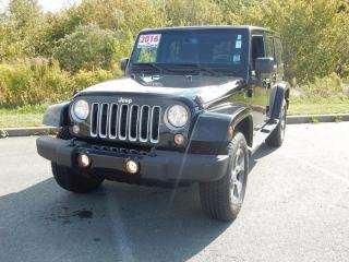 Used 2016 Jeep Wrangler SAHARA! LOW KM!!! for sale in Halifax, NS