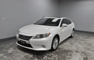 Used 2014 Lexus ES 300h   WITH ''NAVI'' ONE OWNER'' HYBRID'' LEATHER for sale in Kitchener, ON