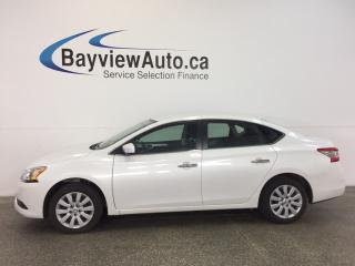 Used 2014 Nissan Sentra S- PURE DRIVE! ECO MODE! A/C! CRUISE! LOW KM! for sale in Belleville, ON