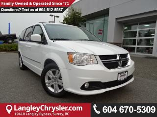 Used 2016 Dodge Grand Caravan Crew *ACCIDENT FREE * DEALER INSPECTED * CERTIFIED * for sale in Surrey, BC