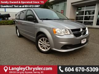 Used 2015 Dodge Grand Caravan *ACCIDENT FREE * LOCAL BC VAN * for sale in Surrey, BC