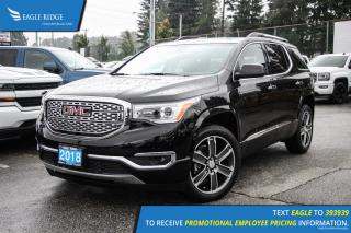 New 2018 GMC Acadia Denali Navigation, Sunroof, and Heated Seats for sale in Port Coquitlam, BC