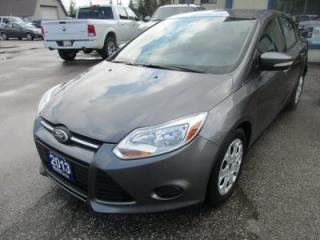 Used 2013 Ford Focus POWER EQUIPPED SE MODEL 5 PASSENGER 2.0L - DOHC.. HEATED SEATS.. FLEX FUEL.. CD/AUX/USB INPUT.. KEYLESS ENTRY.. for sale in Bradford, ON