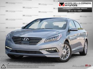 Used 2015 Hyundai Sonata SPORT for sale in Nepean, ON