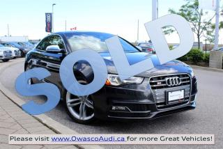 Used 2014 Audi S5 *SOLD* Progressiv w/ Audi Parking System for sale in Whitby, ON