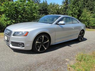 Used 2010 Audi S5 4.2 Coupe quattro Tiptronic for sale in Surrey, BC