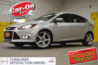 Used 2013 Ford Focus Titanium LEATHER NAV FULL PWR GRP ALLOYS SYNC for sale in Ottawa, ON