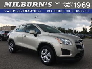 Used 2016 Chevrolet Trax LS for sale in Guelph, ON