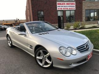 Used 2004 Mercedes-Benz 500SL Hard Top Convertable for sale in Etobicoke, ON