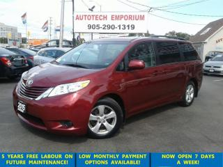 Used 2015 Toyota Sienna LE plus 8Pass. Pwr Sliding door/Camera for sale in Mississauga, ON