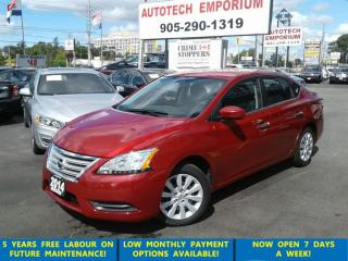 Used 2014 Nissan Sentra Low KM Auto Btooth/ECO Mode &ABS*$45/wkly for sale in Mississauga, ON