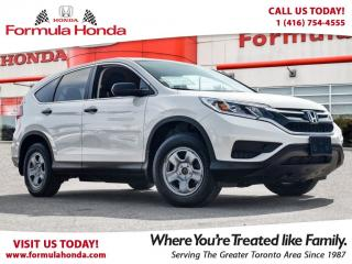 Used 2015 Honda CR-V LX | HEATED SEATS | REAR-VIEW CAMERA for sale in Scarborough, ON