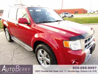 Used 2010 Ford Escape LIMITED - 4WD - 3.0L for sale in Woodbridge, ON