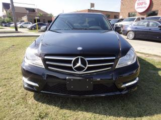 Used 2014 Mercedes-Benz C-Class C 300,4 MATIC,NAVI,BACK CAM,ROOF,FULLY LOADED for sale in North York, ON