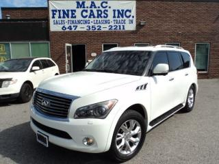 Used 2011 Infiniti QX56 NAVIGATION - DVD - 360 CAMERA for sale in North York, ON