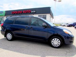 Used 2006 Toyota Sienna CE 7 Passenger DVD Entertainment Package for sale in Milton, ON