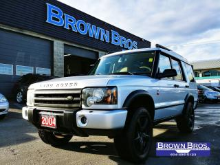Used 2004 Land Rover Discovery II SE, LOCAL, LEATHER, MOONROOF, 4WD for sale in Surrey, BC