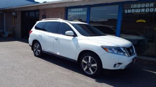 Used 2014 Nissan Pathfinder Platinum/NAVI/BACKUP CAMERA/IMMACULATE$20900 for sale in Brampton, ON