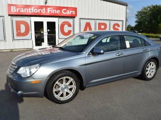 Used 2009 Chrysler Sebring Touring 4dr Front-wheel Drive Sedan for sale in Brantford, ON