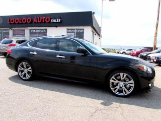 Used 2011 Infiniti M56 S SPORT NAVIGATION CAMERA CERTIFIED 2 YR WARRANT for sale in Milton, ON