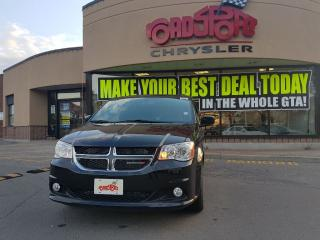 Used 2017 Dodge Grand Caravan SXT Premium Plus NAVI DVD LEATHER STOW AND GO for sale in Scarborough, ON