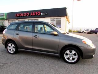 Used 2005 Toyota Matrix XR AWD AUTOMATIC CERTIFIED 2 YEAR WARRANTY for sale in Milton, ON