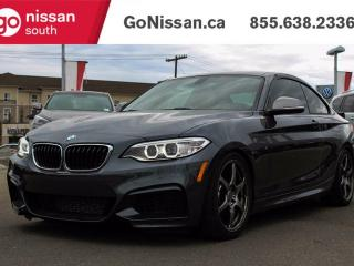 Used 2016 BMW M235 VERY LOW KMS, LIKE NEW! for sale in Edmonton, AB