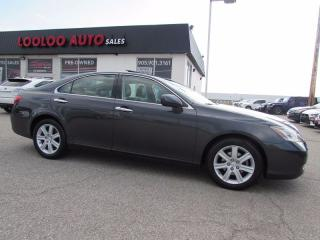 Used 2007 Lexus ES 350 SUNROOF LEATHER CERTIFIED 2YR WARRANTY for sale in Milton, ON