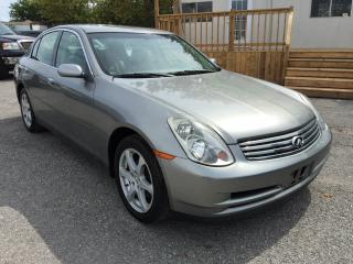 Used 2004 Infiniti G35X Luxury for sale in Pickering, ON