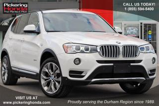 Used 2017 BMW X3 xDrive28i LEATHER NAVI SUNROOF for sale in Pickering, ON
