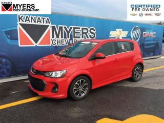 Used 2017 Chevrolet Sonic SUNROOF, HEATED SEATS, TURBOCHARGED 4 CYL for sale in Ottawa, ON