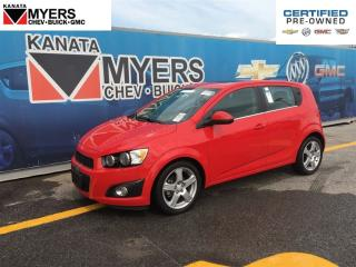 Used 2016 Chevrolet Sonic SUNROOF, HEATED SEATS, TURBOCHARGED 4 CYL for sale in Ottawa, ON