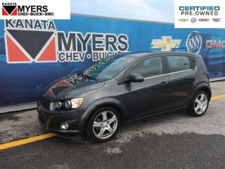 Used 2016 Chevrolet Sonic UNROOF, HEATED SEATS, TURBOCHARGED 4 CYL for sale in Ottawa, ON