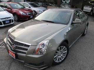 Used 2010 Cadillac CTS 3.0L-AWD-LEATHER-BLUETOOTH-HETAED for sale in Scarborough, ON