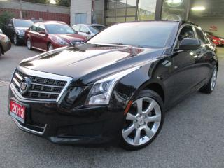Used 2013 Cadillac ATS 2.0L Turbo-LEATHER-CAMERA-BLUETOOTH-HEATED for sale in Scarborough, ON