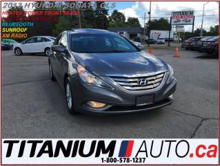 Used 2013 Hyundai Sonata GLS+Sunroof+Heated Power Seats+BlueTooth+USB & AUX for sale in London, ON